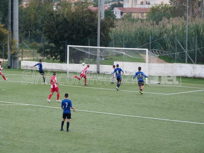 Il gol della vittoria del Fonni contro la Montalbo
