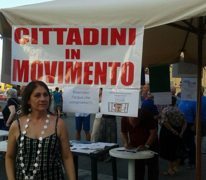 Vincenza Sanna. Foto inviata dai