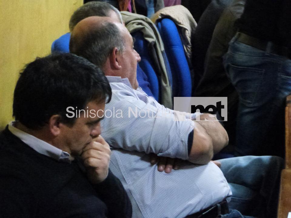 Nella foto Giuseppe Mele e Gianluigi Farris, consiglieri di Idea Siniscola