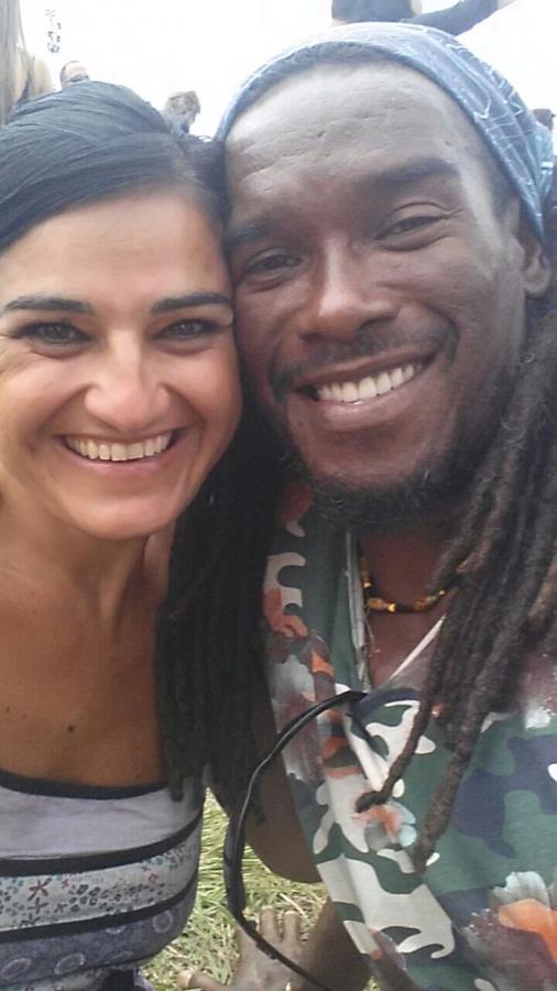 Stefania e Tomás a L'Avana