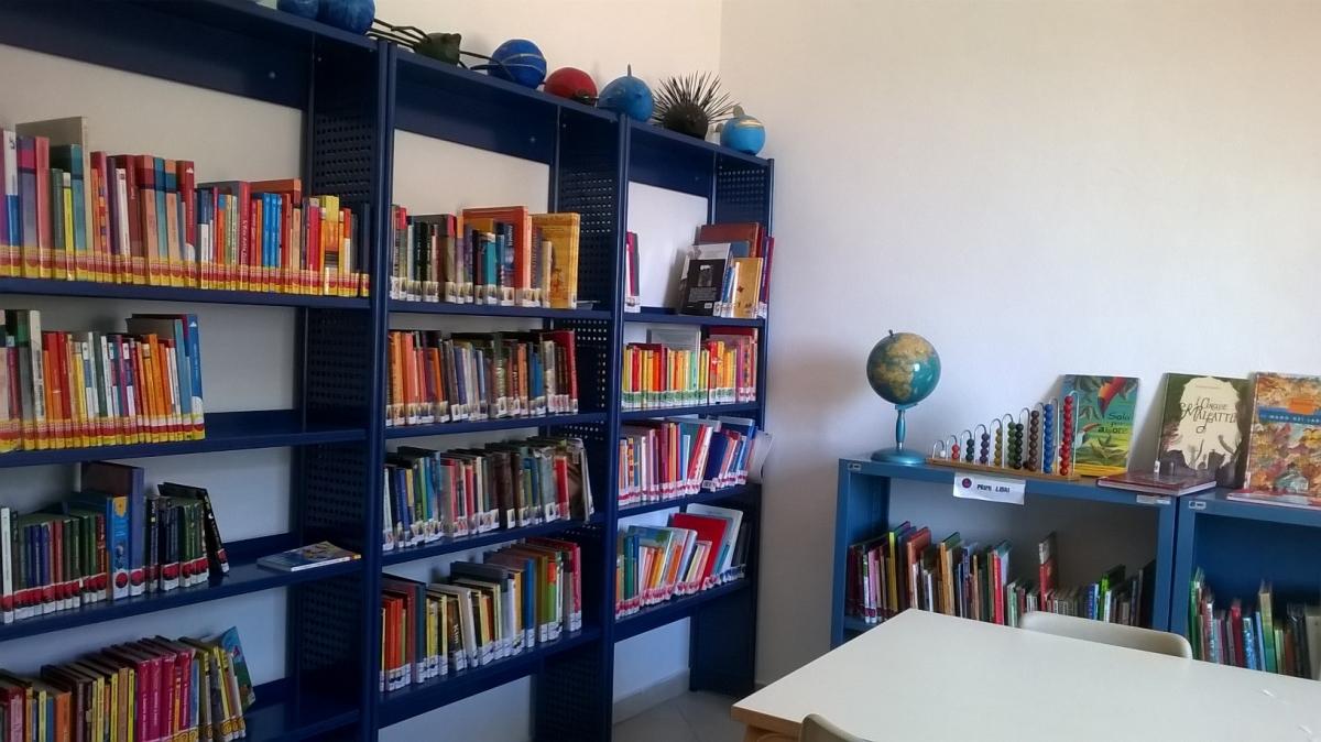 Biblioteca La Caletta, foto inviata alla redazione