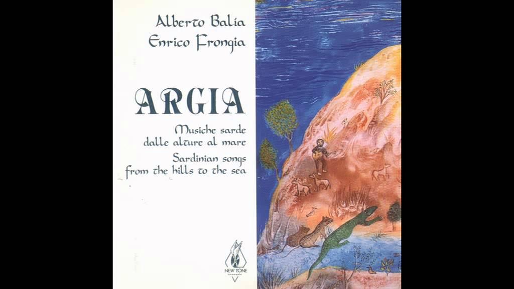 """La copertina del disco """"Argia, musiche sarde dalle alture al mare"""""""