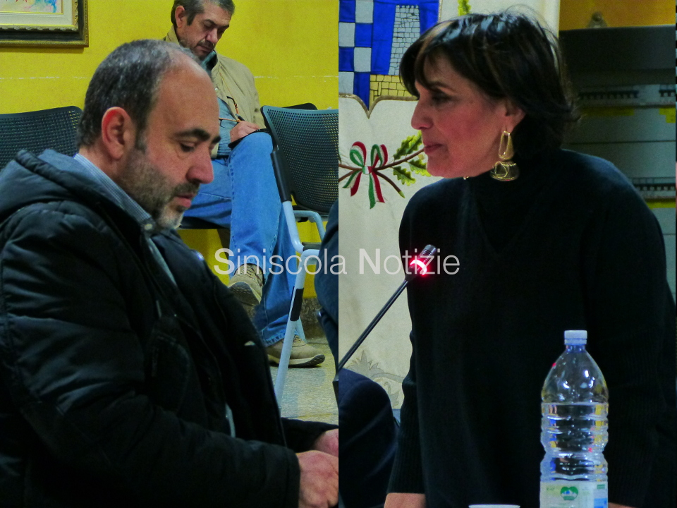 Giorgio Fresu e Maria Grazia Piras nel febbraio 2018 a Siniscola