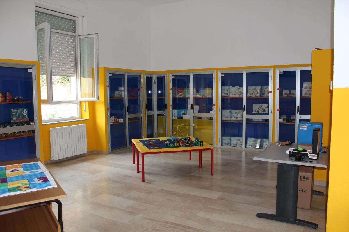 L'atelier creativo del comprensivo 1. Foto invata alla redazione