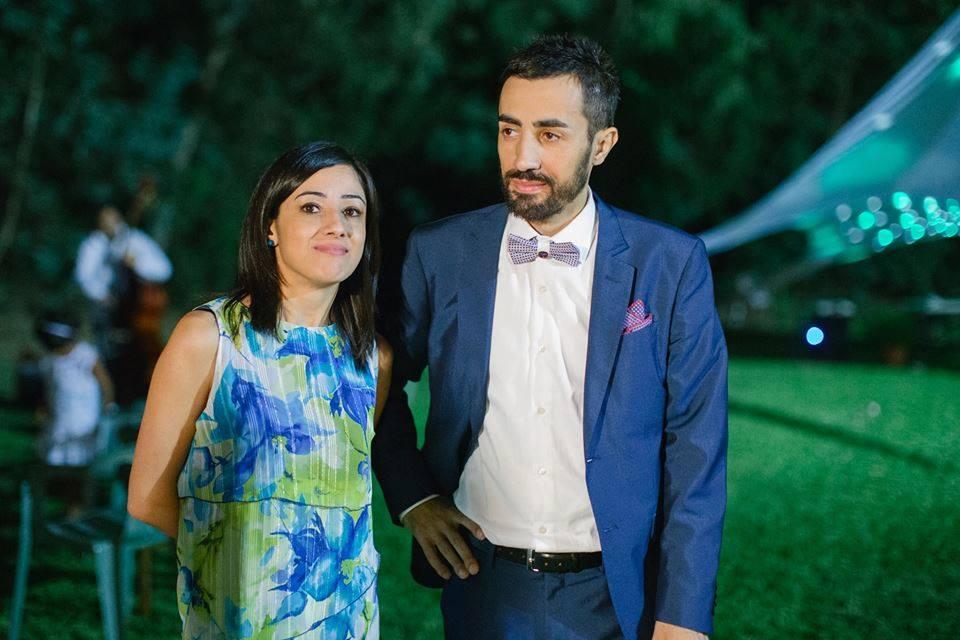 Pierpaolo Baingiu con sua sorella Daniela